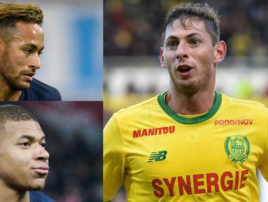 Kylian Mbappe dan Emiliano Sala puncaki daftar top scorer sementara Ligue 1 hingga pekan ke-13
