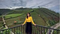 Kawasan Wisata Bukit Panyaweuyan Majalengka yang Dipromosikan Ridwan Kamil. (dok. Instagram @exploremajalengka/https://www.instagram.com/p/B8gRznspgB6/Henry)