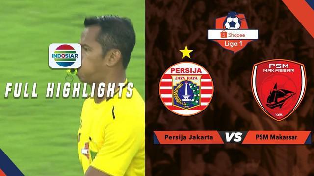 Berita video highlights Shopee Liga 1 2019 antara Persija Jakarta melawan PSM Makassar yang berakhir dengan skor 0-0, Rabu (28/8/2019).