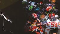 MotoGP - 4 Pembalap disebut The Next Valentino Rossi (Bola.com/Adreanus Titus)
