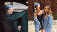 Ilustrasi Jika 'Girl with a Pearl Earring' Hidup di Dunia Nyata (Sumber: Instagram/untitled.save/)