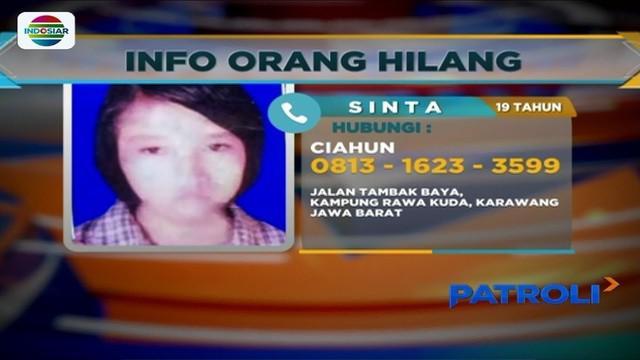Saat menemani ibu membeli nasi goreng, seorang gadis asal Karawang, bernama Sinta, menghilang.