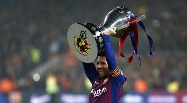 Lionel Messi Pisah dengan Barcelona