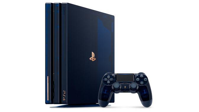 Penampakan konsol PS4 Pro edisi khusus. (Doc: PlayStation)