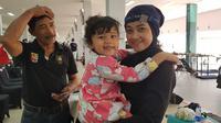 Atlet menembak Indonesia yang turun di Asian Games, Maharani Ardi. (Bola.com/Riskha Prasetya)