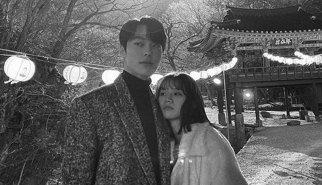 Sejak drama Korea My Roomate is a Gumiho  tayang pada akhir Mei 2021, Lee Hye Ri dan Jang Ki Yong kerap mengunggah foto kebersamaan mereka di lokasi syuting. (Foto: Instagram/juanxkui)
