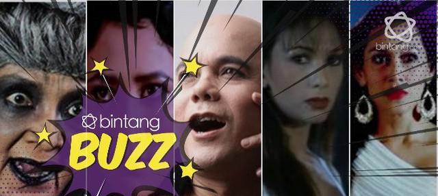 Totalitas 5 artis ini perankan hantu dalam film dan sinetron, ada idolamu?