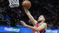 Ben Simmons membantu Sixers kalahkan Cavaliers pada laga NBA (AP)