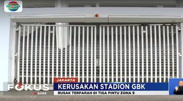 Akibat aksi brutal sejumlah suporter Persija Jakarta tersebut, pengelola GBK mengaku mengalami kerugian hingga puluhan juta rupiah.