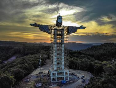 Brasil Bangun Patung Yesus Raksasa Baru, Lebih Tinggi dari Patung Rio de Janeiro