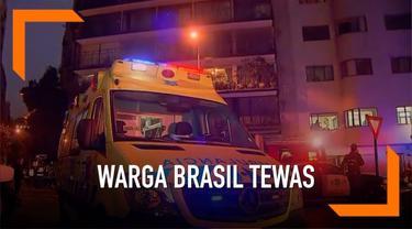 Enam warga Brasil ditemukan tewas di dalam apartemen diduga akibat keracunan gas karbon monoksida.