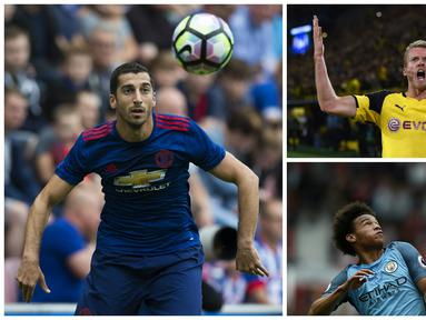 Tujuh pemain ini ditransfer mahal. Namun, di klub baru mereka masih berjuang mendapatkan posisi tim utama. (AFP)