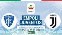 Serie A 2018-2019 Empoli Vs Juventus (Bola.com/Adreanus Titus)