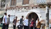 Presiden Jokowi di Benteng Van den Bosch di Ngawi, Jawa Timur. (dok.Instagram @jokowi/https://www.instagram.com/p/BtXvsDOgzf0/Henry