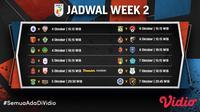 Liga 2 2021 Minggu Kedua, Mulai 4-5 Oktober 2021