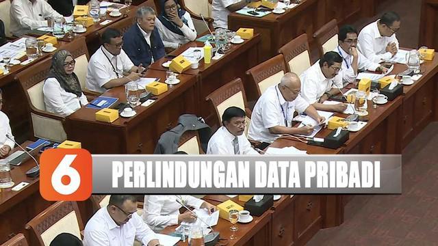 Kominfo dan Komisi I DPR RI rapat bahas RUU Perlindungan Data Pribadi yang ditargetkan selesai tahun depan.