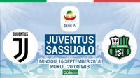 Serie A Juventus Vs Sassuolo (Bola.com/Adreanus Titus)