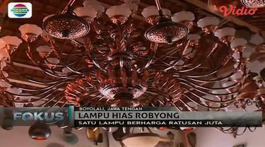 Di Boyolali, Jawa Tengah, ada sebuah desa yang memproduksi lampu-lampu mewah.