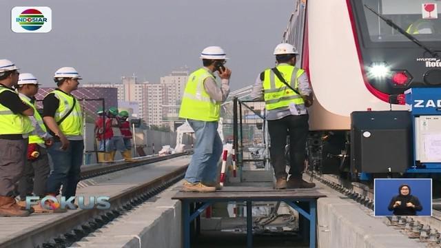 Dirut PT Jakpro Satya Heragandhi optimis LRT bisa digunakan saat Asian Games, Agustus mendatang.