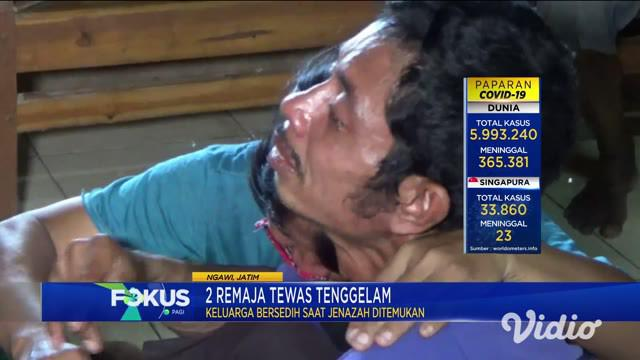 Dibantu warga, jenazah bocah berumur 16 tahun itu langsung dievakuasi ke daratan, jenazah tersebut lalu dibawa ke rumah duka, di Desa Dero, Kecamatan Bringin, Kabupaten Ngawi.