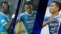 Trivia 3 Pemain Persib yang Layak diwaspadai Borneo FC (Bola.com/Adreanus Titus)