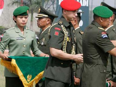 Citizen6, Cimahi: Peringatan HUT Ke-66 TNI AD atau dikenal dengan Hari Juang Kartika 2011  dilaksanakan secara terpusat di Cimahi yang berjalan dengan meriah. (Pengirim: Pendam3)