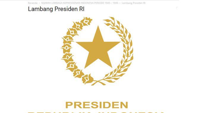 Penelusuran Lambang Presiden Diganti Dengan Bintang Komunis