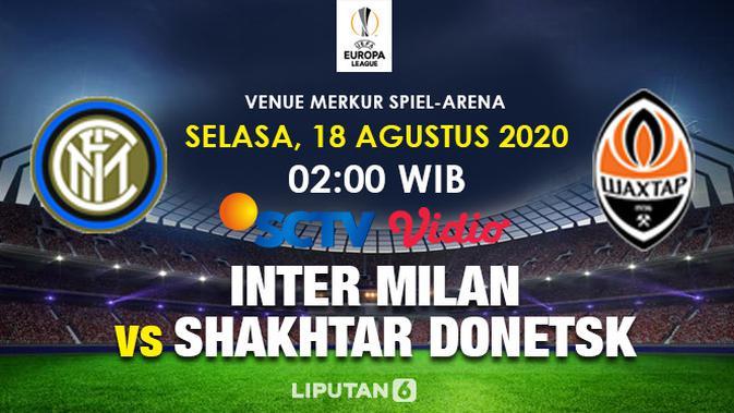Semifinal Liga Europa Inter Milan vs Shakhtar Donetsk (Trie Yas/)
