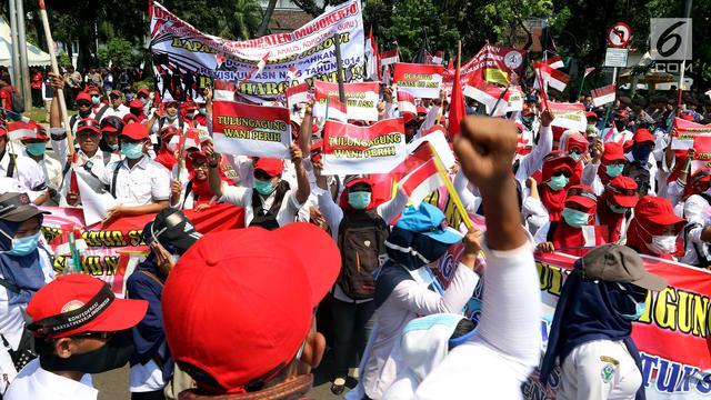 Buruh Jambi Pilih Lomba Mewarnai Bersama Anak Ketimbang Demo News
