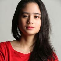 Tissa Biani Azzahra visit film KKN di Desa Kenari, di kantor Gondangdia, Senin (2/3/2020). (Adrian Putra/Fimela.com)