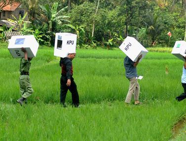 Distribusi Logistik Pemilu di Bogor