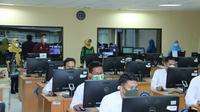 Pelaksanaan tes SKD CPNS di di Kantor Regional 1 BKN Yogyakarta (Foto: Menpan.go.id)
