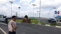 Terminal baru Bandara InternasionalSyamsudin Noor Banjarmasin (dok: Ilyas Istianur Praditya)