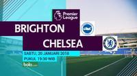 Premier League_Brighton and Hove Albion vs Chelsea (Bola.com/Adreanus Titus)