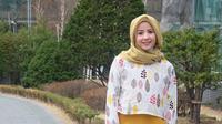 Natasha Rizky di Korea Selatan. [foto: instagram/natasharizkynew]
