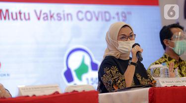 FOTO: Kepala BPOM Paparkan Terkait Vaksin COVID-19 Sinovac
