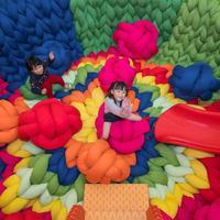 Bekerja sama dengan seniman Brasil, dua instalasi seni interaktif di Hong Kong patut dikunjungi saat liburan nanti. (Foto: Instagram/@HarbourCity)