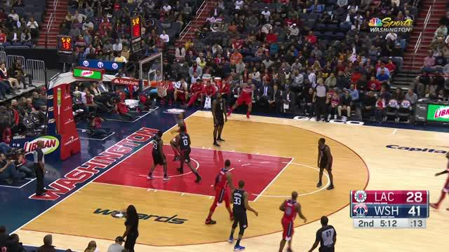 Berita video game recap NBA 2017-2018 antara Washington Wizards melawan LA Clippers dengan skor 100-91.
