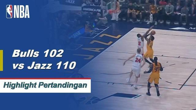 Donovan Mitchell mencetak 34 poin dan Rudy Gobert hampir mencatat double-double (15 poin, 16 rebound, delapan assist) ketika Jazz memenangi ketiga beruntun mereka.