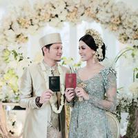Bunga Jelitha dan Syamsir Alam (Instagram/mozawahyu)