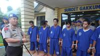 Polisi gulung komplotan perompak perairan Kalimantan (Liputan6.com / Abelda Gunawan)