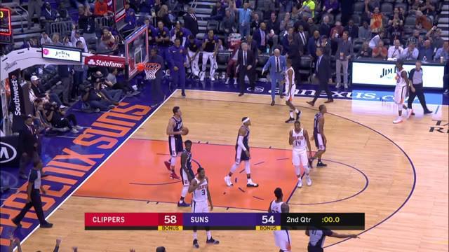 Tobias Harris turun 33 poin ketika Clippers mengatasi Suns di perpanjangan waktu, 123-119.
