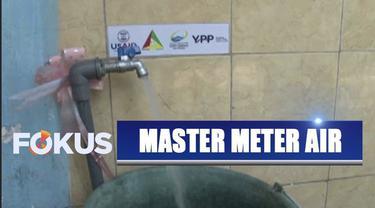 YPP SCTV-Indosiar dan PDAM Surabaya berikan pipa master meter air bersih di Sidoyoso Kali Selatan.