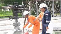 Pertamina Drilling Services Indonesia (PDSI) yang telah mengirimkan sejumlah pekerjanya untuk mengikuti Pelatihan Pengawas K3 di Pusat Pengembangan Sumber Daya Manusia Minyak dan Gas Bumi (PPSDM Migas).