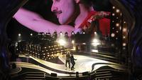 Brian May dan Adam Lambert membuka perhelatan Piala Oscar 2019 (Photo by Chris Pizzello/Invision/AP)