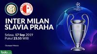 Liga Champions - Inter Milan Vs Slavia Praha (Bola.com/Adreanus Titus)