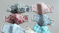 Simak tutorial mudah membuat masker kain yang bisa dibuat sendiri di rumah. (Foto: Instagram/ Oeoe1130)