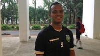 Kapten Timnas Timor Leste di Piala AFF 2018, Jorge Sabas Victor. (Bola.com/Benediktus Gerendo Pradigdo)