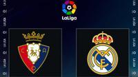 La Liga - Osasuna Vs Real Madrid (Bola.com/Adreanus Titus)