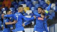 Pelatih Napoli, Gennaro Gattuso, menyebut timnya tak gentar meladeni perlawanan Barcelona meskipun sadar laga tak akan berlangsung mudah.(AFP/Filippo Monteforte)